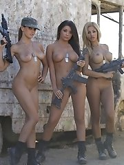 Daisy Sanchez, Jaclyn Swedberg, and Logann Brooke
